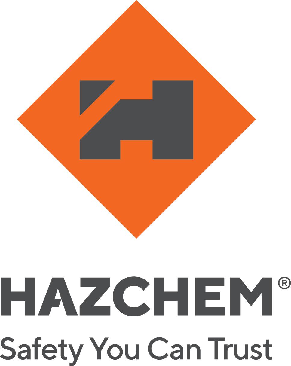 Hazchem Stacked_Logo_Orange-Grey+strap